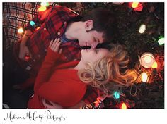 SUCH a cute winter engagement/couples session!!