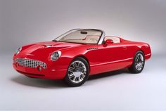 2001 Ford Thunderbird Sports Roadster Concept car....