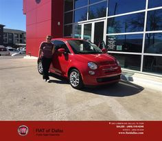 https://flic.kr/p/E6ee84   Congratulations Rachel on your #FIAT #500 from Jessica Rubio at Fiat of Dallas!   deliverymaxx.com/DealerReviews.aspx?DealerCode=F741