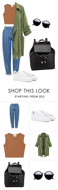"""""""Untitled #13"""" by karlagtz on Polyvore featuring Topshop, adidas, Samuji and Barneys New York"""