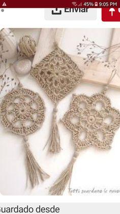 Crochet Bikini, Dream Catcher, Home Decor, Farmhouse Rugs, Canoe, Embellishments, Xmas, Doily Dream Catchers, Crochet Snowflakes
