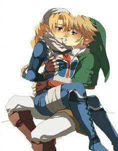 Yo si esperaba a Link y Zelda juntos en algún momento ve.