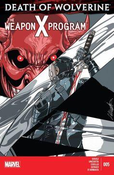 Death of Wolverine: The Weapon X Program #5 - Marvel Comics