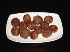 "Authentic Greek Recipes: Keftedakia (small meatballs) - The classic Greek meatballs are called Keftedes and Keftedakia are a smaller version of them (akia at the end of a word in Greek means ""small"" in the plural). They can be eaten as a snack, as a meze with ouzo and/or beer or just as part of a buffet meal. Children love these! And they are easy and quick to prepare!"