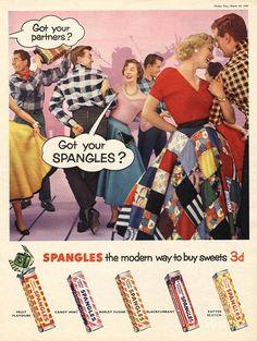 Spangles 1956 UK
