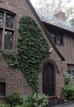 The English Tudor home was completed in 1930. The 15,000-square-foot U-shaped mansion has 22 rooms, a slate roof and beveled windows.