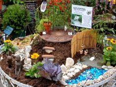 Decorating Plants To Use In A Fairy Garden Fairy Garden Garden Miniature Fairy Garden Supplies Creating Fairy Garden for Your Kids Birthday. Mini Fairy Garden, Fairy Garden Houses, Fairy Gardening, Indoor Gardening, Garden Trees, Garden Huts, Diy Jardin, Ponds Backyard, Backyard Patio