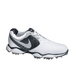 Shop for Nike Men's Lunar Control II White/ Black/ Silver Golf Shoes. Get free delivery On EVERYTHING* Overstock - Your Online Golf Equipment Destination! Best Golf Shoes, Spikeless Golf Shoes, Sports Shoes, Nike Golf, Old Nikes, Air Max Sneakers, Sneakers Nike, Mens Golf Outfit, Golf Attire