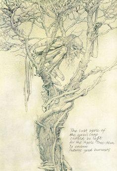 The Apple Tree Man by Alan Lee