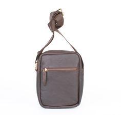 Super lækre Adax herretaske i skind, 698252, brun  Skoletasker til unge til Rygsække i behagelige materialer