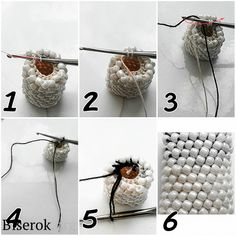 How to add yarn to bead crochet