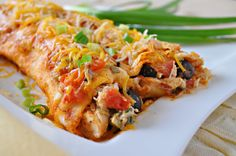Easy Chicken Enchiladas-want enchiladas-here's my simple and  go to winning recipe www.hollyclegg.com #southern #southwestern