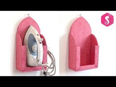 Here is best idea of Wall Mounted Iron Stand from Cardboard! Diy Crafts Hacks, Diy Home Crafts, Diy Arts And Crafts, Wood Crafts, Cardboard Furniture, Cardboard Crafts, Diy Furniture, Homemade Shoes, Diy Karton