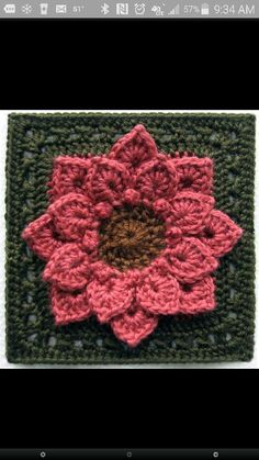 Not crazy about the colors, but LOVE the stitch http://www.ravelry.com/patterns/library/crocodile-stitch-afghan-block---dahlia