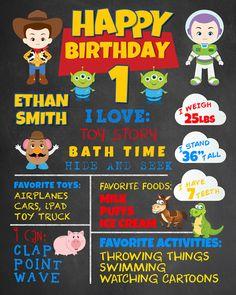 Resultado de imagen para toy story first birthday party
