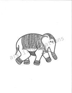 Elephant. $20.00, via Etsy.