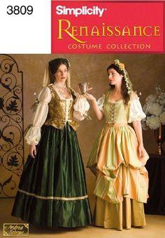 Simplicity Sewing Pattern 3809 Misses Costumes, D (4-6-8) by Simplicity, http://www.amazon.com/dp/B004NBXQD0/ref=cm_sw_r_pi_dp_pTzXqb06RPW9Z