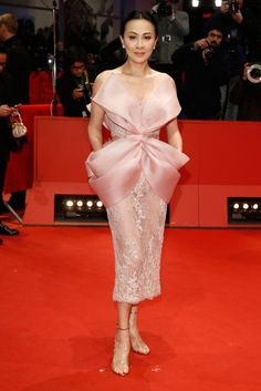 Carina Lau in Ralph & Russo Couture at the Berlin Film Festival Closing Ceremony