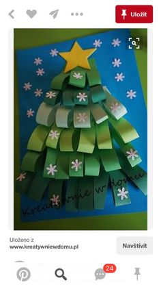 Easy Christmas Tree Crafts Ideas for toddlers and preschoolers folded Paper Christmas Tree Christmas Arts And Crafts, Christmas Activities, Christmas Projects, Kids Christmas, Holiday Crafts, Christmas Cards, Christmas Decorations, Christmas Ornaments, Whimsical Christmas Trees