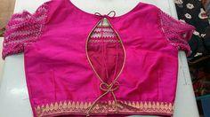 Blouse Neck Designs, Blouse Styles, Blouse Models, Saris, Indian Dresses, Boat Neck, Brides, Blouses, Pattern