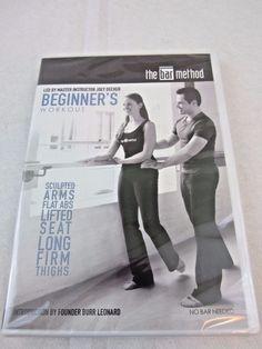 The Bar Method Beginner DVD - Burr Leonard - New & Sealed