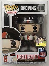 BAKER MAYFIELD Funko NFL 2018 Cleveland Browns POP! Figure  110 FREE  SHIPPING! 7da8b39d2