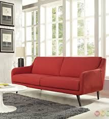 See the Verve Sofa Upholstery: Atomic Red. Sofa Upholstery, Upholstered Sofa, Fabric Sofa, Cushions On Sofa, Classic Furniture, Contemporary Furniture, Modern Contemporary, Living Room Furniture, Home Furniture