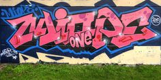 Street art Cosec à Saint-Michel-sur-Orge - Graff en couleur 20160115079