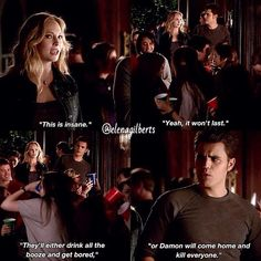 Throwback Stefan talks about damon!!! Ahahah he is right!