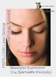 376516039bc Strong Natural Lashes!!! Beautiful Extensions!!!- Use Serum Everyday Eyelash
