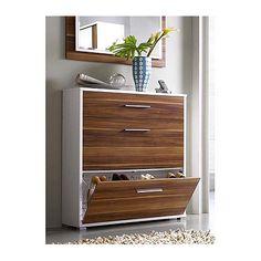 Shoe Cabinet White Highgloss Finish Storage Hall Furniture Shoe - 63 clever hallway storage ideas