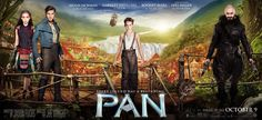 Poster Image Starring:Hugh Jackman,Garrett Hedlund,Rooney Mara,Levi Miller Directed by:Joe Wright Production Companies: Warner Bros.,Berlanti Productions,RatPac-Dune Entertainment. Release Date: October 9 2015. Pan Trailer 2 was last modified: February 8th, 2016 by Kaarle Aaron