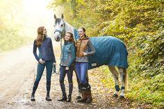 Potřeby pro jezdce | Jezdecké bundy, mikiny | Jezdecká vesta Judy ELT zimní | Jezdecké potřeby Cleverhorse