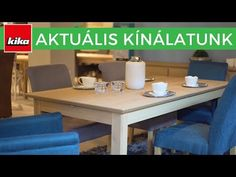 Aktuális termékkínálatunk - Étkezőasztalok | Kika Magyarország - YouTube Youtube, Furniture, Home Decor, Homemade Home Decor, Home Furnishings, Decoration Home, Arredamento, Youtube Movies, Interior Decorating