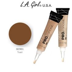 LA Girl Pro Conceal HD 981 Toast 2 Pack >>> Want additional info? Click on the image.