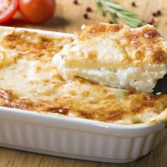 Make individual sized potatoes au gratin for a charming twist to a classic side dish.