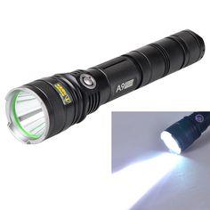 Warsun A9 High Power 10W 1198lm White Light 5-Mode Long Shot LED Flashlight (2 x 26650). . Tags: #Lights #Lighting #Flashlights #LED #Flashlights #Other #Batteries #Flashlights