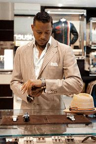 Out and about: Terrence Howard,