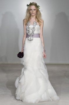 Vera Wang Fairy Dust Wedding Dress $8,000