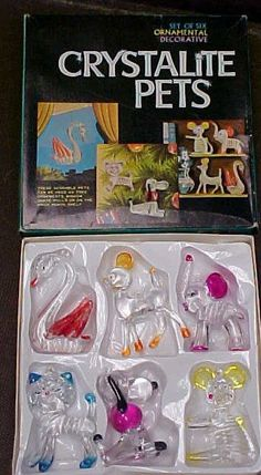Crystalline Pets, 1976 I remember getting them out of the crane thing at the county fair 1970s Childhood, My Childhood Memories, Childhood Toys, Great Memories, Retro Toys, Vintage Toys, Vintage Paper, School Memories, 80s Kids