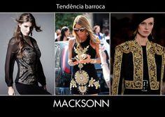 O barroco é tendência fortíssima dessa temporada! Não fique de fora e invista nas peças Macksonn que possuem essa trend, tornado seus looks do dia a dia muito mais elaborados!