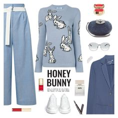 """Be Cool Honey Bunny"" by sproetje ❤ liked on Polyvore featuring TIBI, Juvia, Prada, Dsquared2, Bella Freud, Clé de Peau Beauté, Dolce&Gabbana, Khokho, Robert Clergerie and StreetStyle"