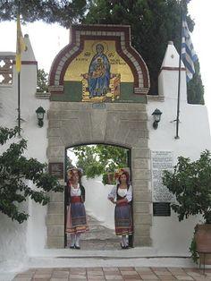 Greek Byzantine Monastery on Corfu