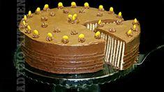 Tort fara coacere   Tort spirala de biscuiti Adygio Kitchen Romanian Desserts, Romanian Food, Sicilian Recipes, Greek Recipes, India Food, No Cook Desserts, No Bake Cake, Cake Recipes, Biscuit