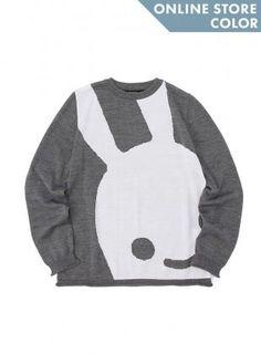 ウサギセーター