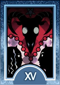 Persona 3/4 Tarot Card Deck HR - The Devil Arcana by Enetirnel