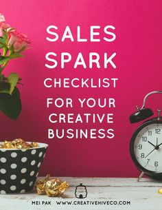 FREE: 10 Effective & Easy Marketing Principals to Spark Your Sales and Grow Your Creative Business. Get the checklist and take the 30 second quiz to assess your marketing!