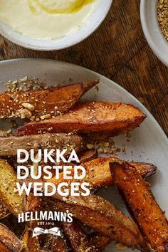 Dukkah is a nut, seed and spice mix from Egypt. The word means to crush and describes precisely how it is made. This versatile mix keeps well and can easily become your emergency magic touch when sprinkled on bread, salads, dips, fish or vegetables. Try double-dipping sweet potato chips first in Hellmann's ketchup then in Dukkah for an addictive treat.