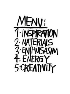 Life menu life quotes quotes quote energy creativity inspiration enthusiasm