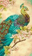 Indian Peacock Cross Stitch Kit